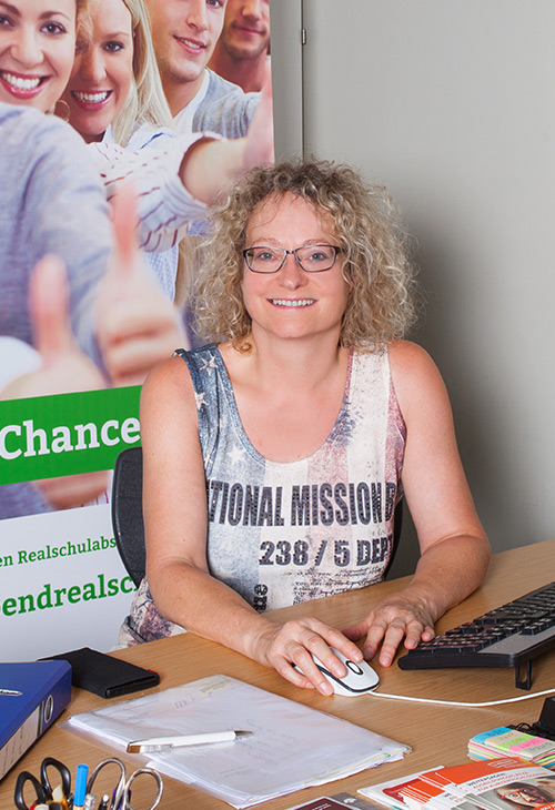 Geschaeftsfuehrerin der Abendrealschule Ludwigsburg Sabine Nagel