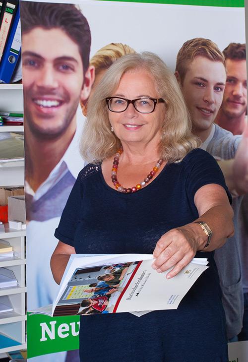 Vorsitzende der Mitgliederversammlung Abendrealschule Ludwigsburg Rita Haller