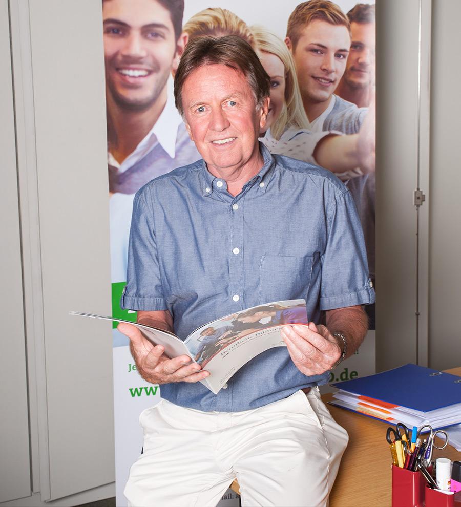 Schulleiter der Abendrealschule Ludwigsburg Gerd Dermann